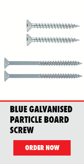 Blue Galvanised Particle Board Screw